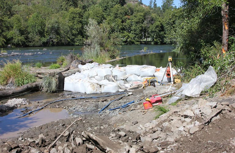 Gold Hill Irrigation District Improves Fish Passage At Dam On Rogue River